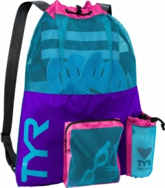 tyr mesh mummy backpack pink/purple