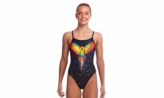 funkita love bird  girls single strap
